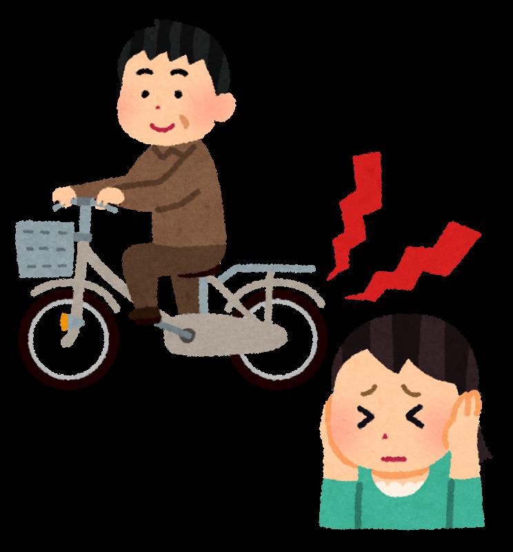 うるさい!「キーキー」音を止める裏技(ママチャリ編)