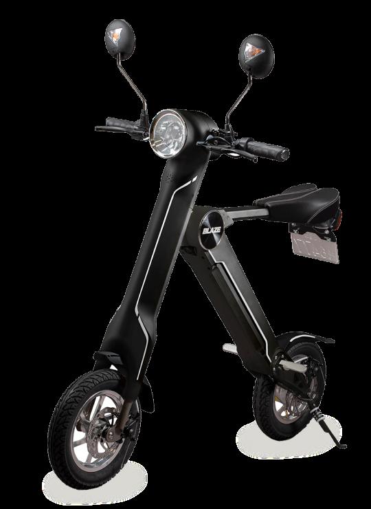 【BLAZEスマートEV】折り畳み電動バイクはいかが?